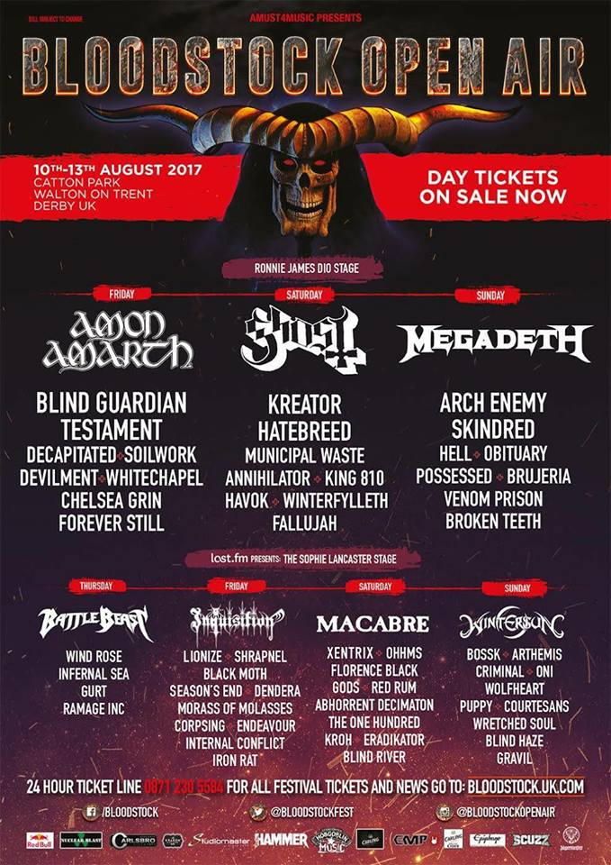 Devilment : Bloodstock Open Air