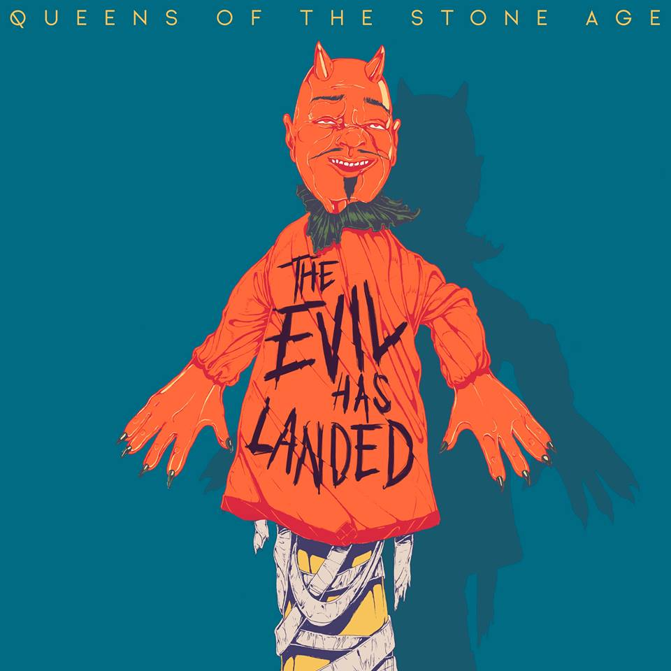 Queens Of The Stone Age : The Evil Has Landed