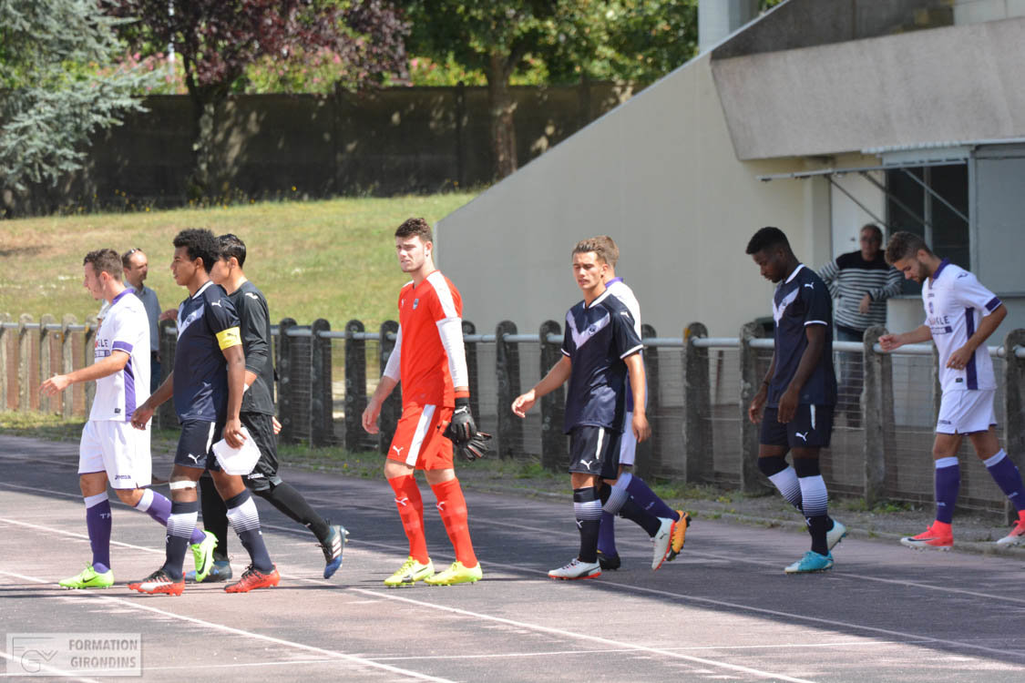 Cfa Girondins : Un revers pour commencer (1-0) - Formation Girondins