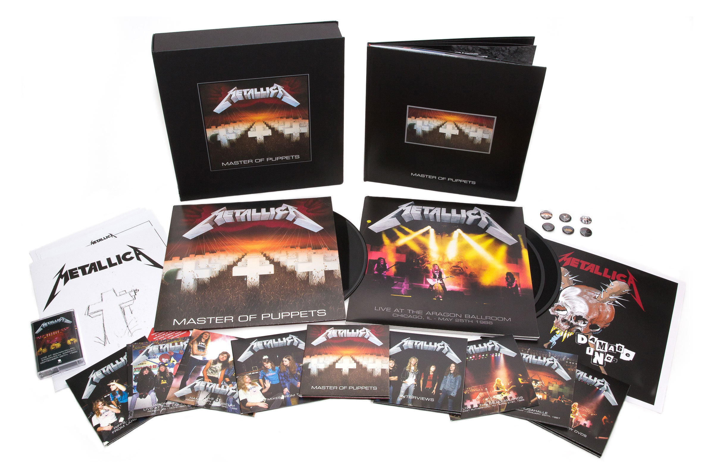 Metallica : Master Of Puppets coffret collector