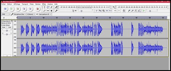 [Audacity] Normaliser, désaturer ou amplifier un enregistrement 6fqq