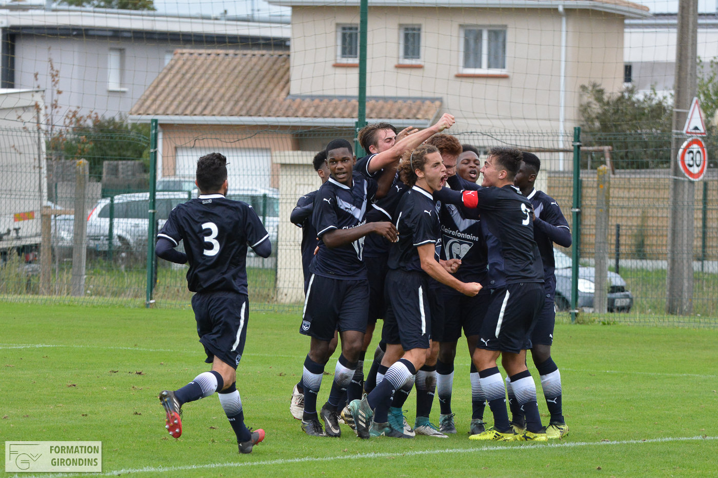 Cfa Girondins : Bordeaux s'impose à Libourne (1-4) - Formation Girondins