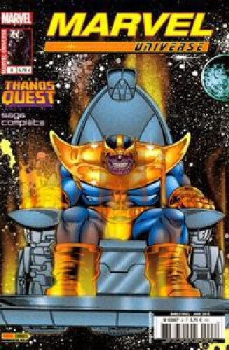 Marvel Universe v2 - 008 : Thanos quest 06/2013