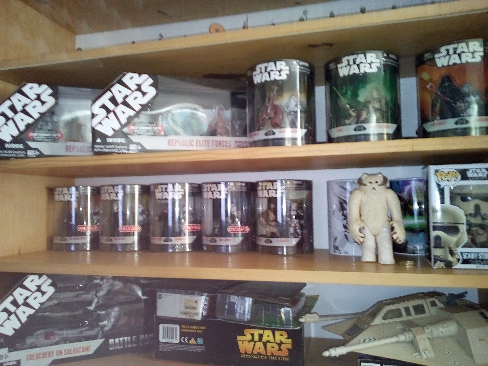 A part of my star wars collection Krmb