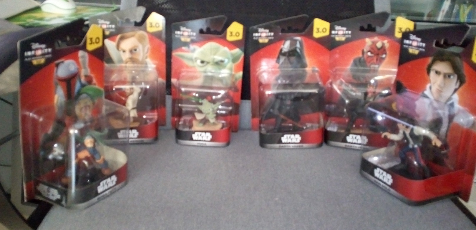 A part of my star wars collection Vkg1