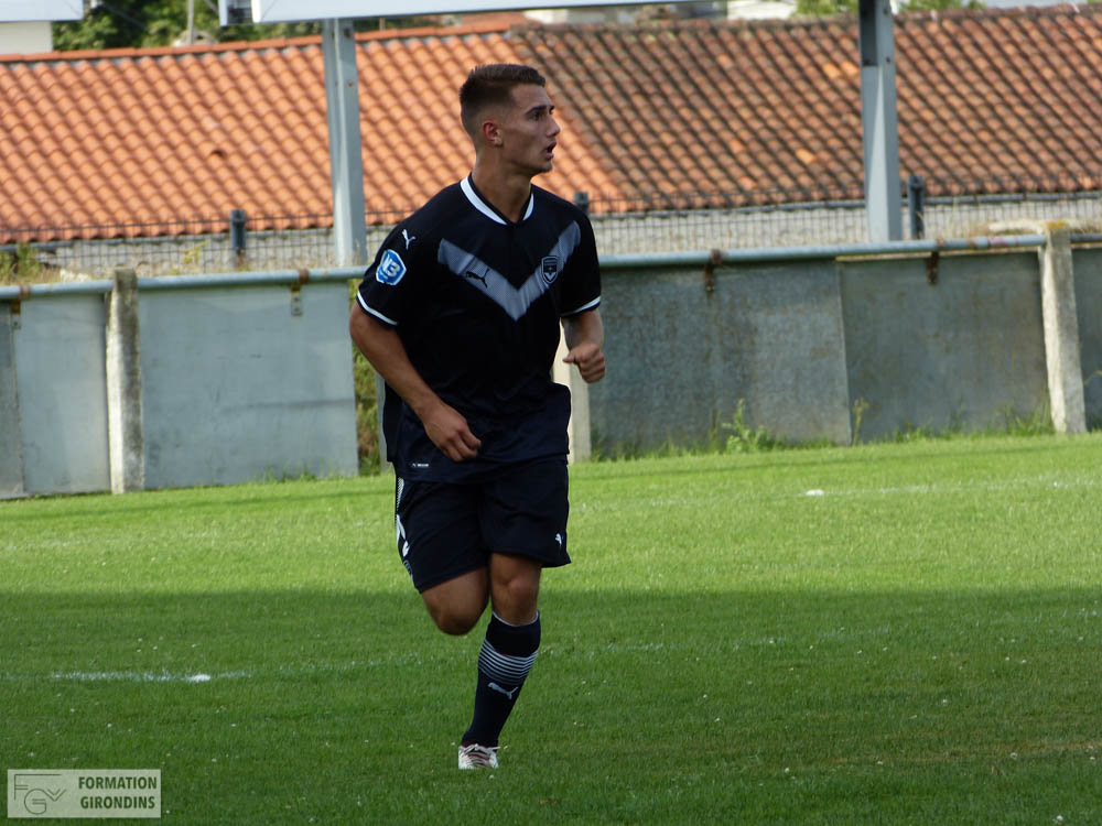 Cfa Girondins : Thomas Carrique - « On avait bien sûr une pensée vers la Youth League ! » - Formation Girondins