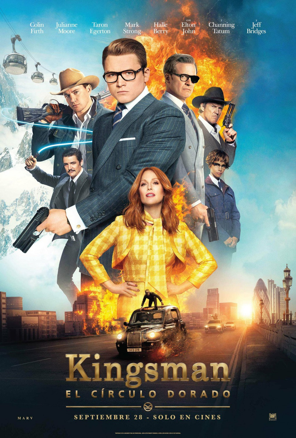 Sorties Ciné : Kingsman : Le Cercle d'Or