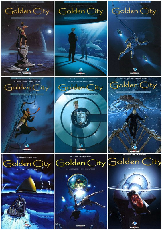 Golden City Tomes 1 a 9