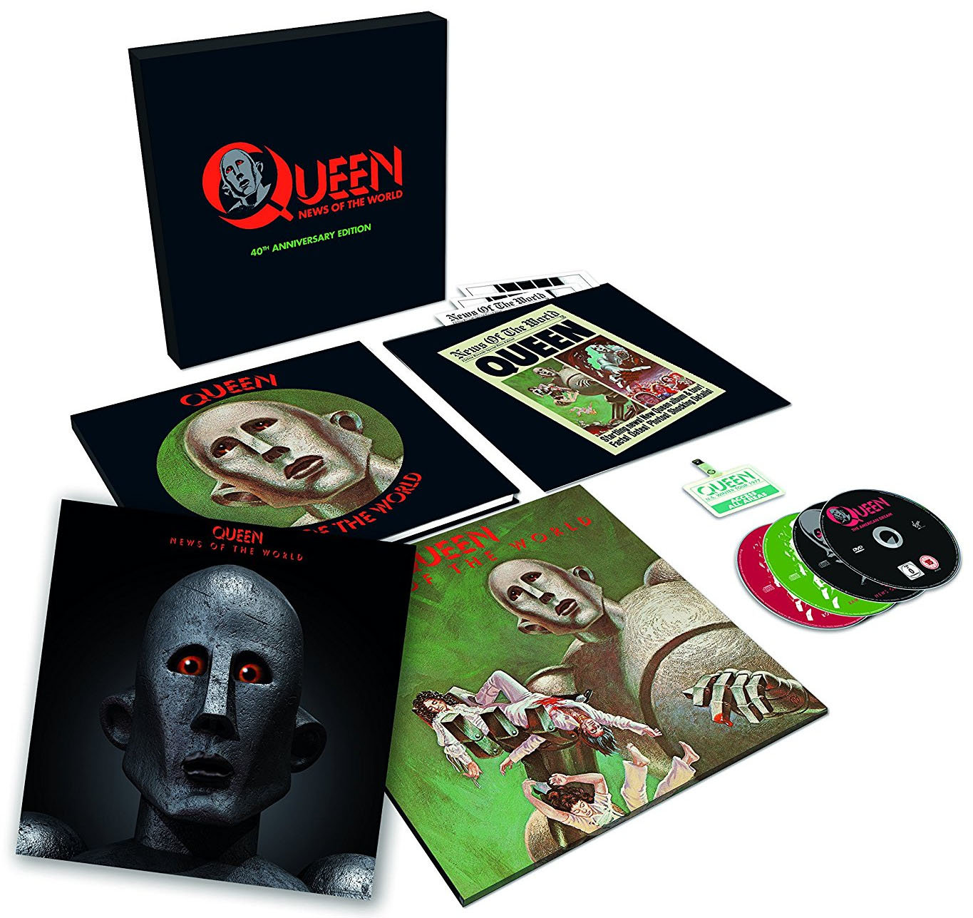 Queen : News Of The World (Super Deluxe Box Set)