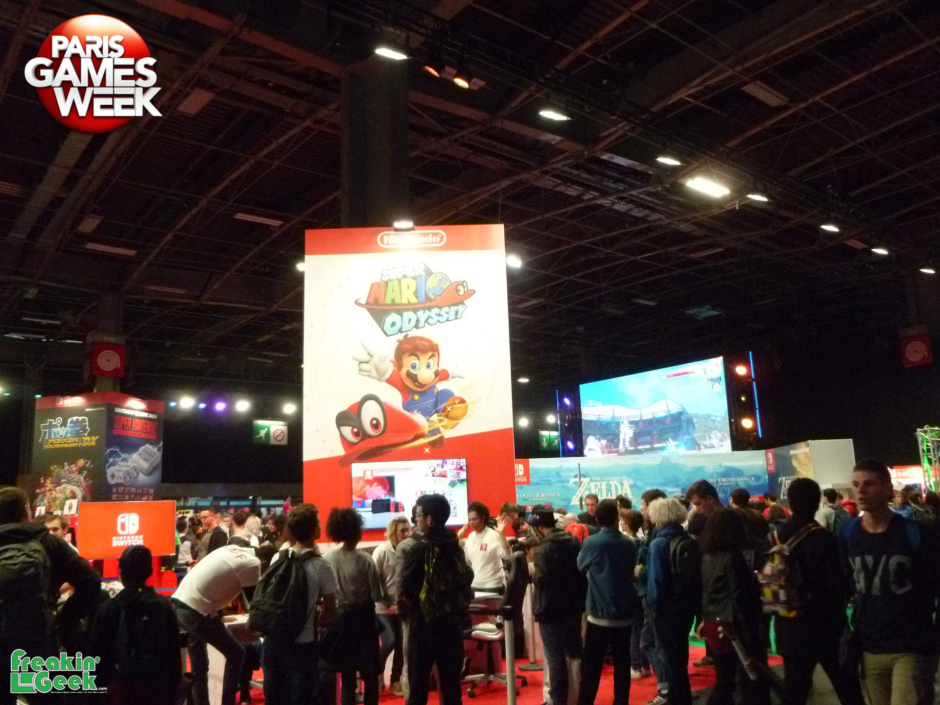 Paris Games Week 2017 : Nintendo