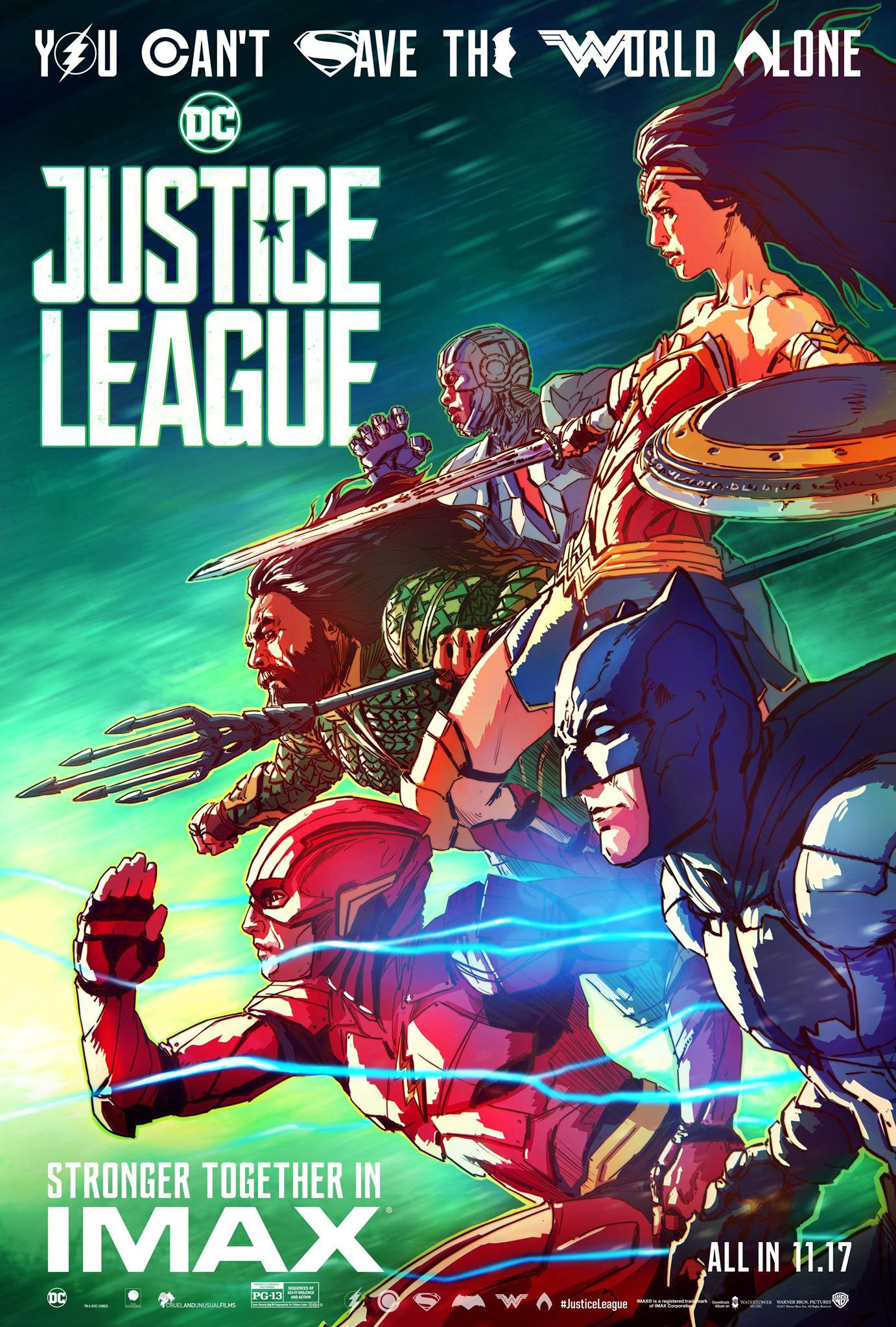Sorties Ciné : Justice League