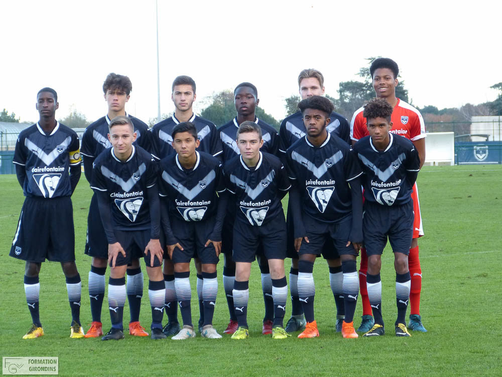 Cfa Girondins : Les Girondins s'inclinent contre Marmande (0-1) - Formation Girondins