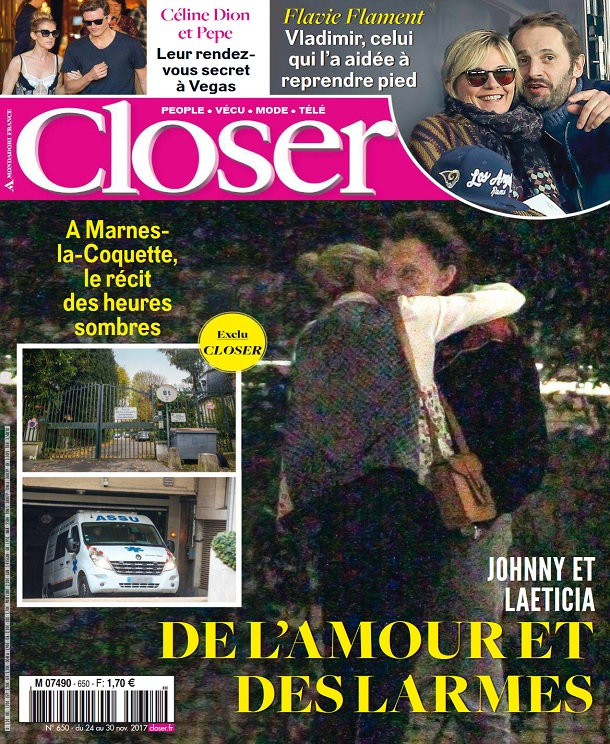 télécharger Closer N°650 Du 24 Novembre 2017