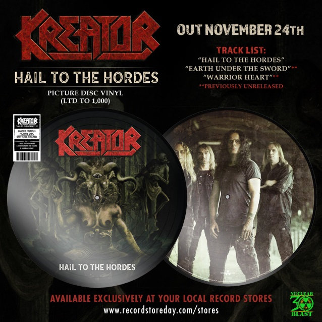 Kreator : Hail To The Hordes