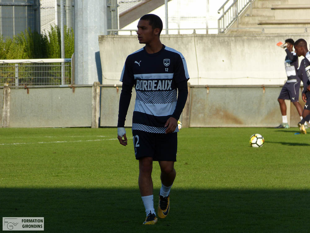 Cfa Girondins : Yassine Benrahou - « On en parlait pendant les vacances, de monter en National 2 » - Formation Girondins