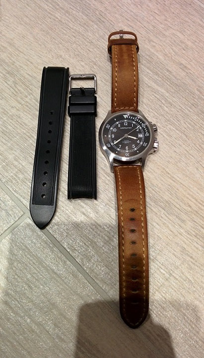 Question Hamilton Khaki Navy 34xo