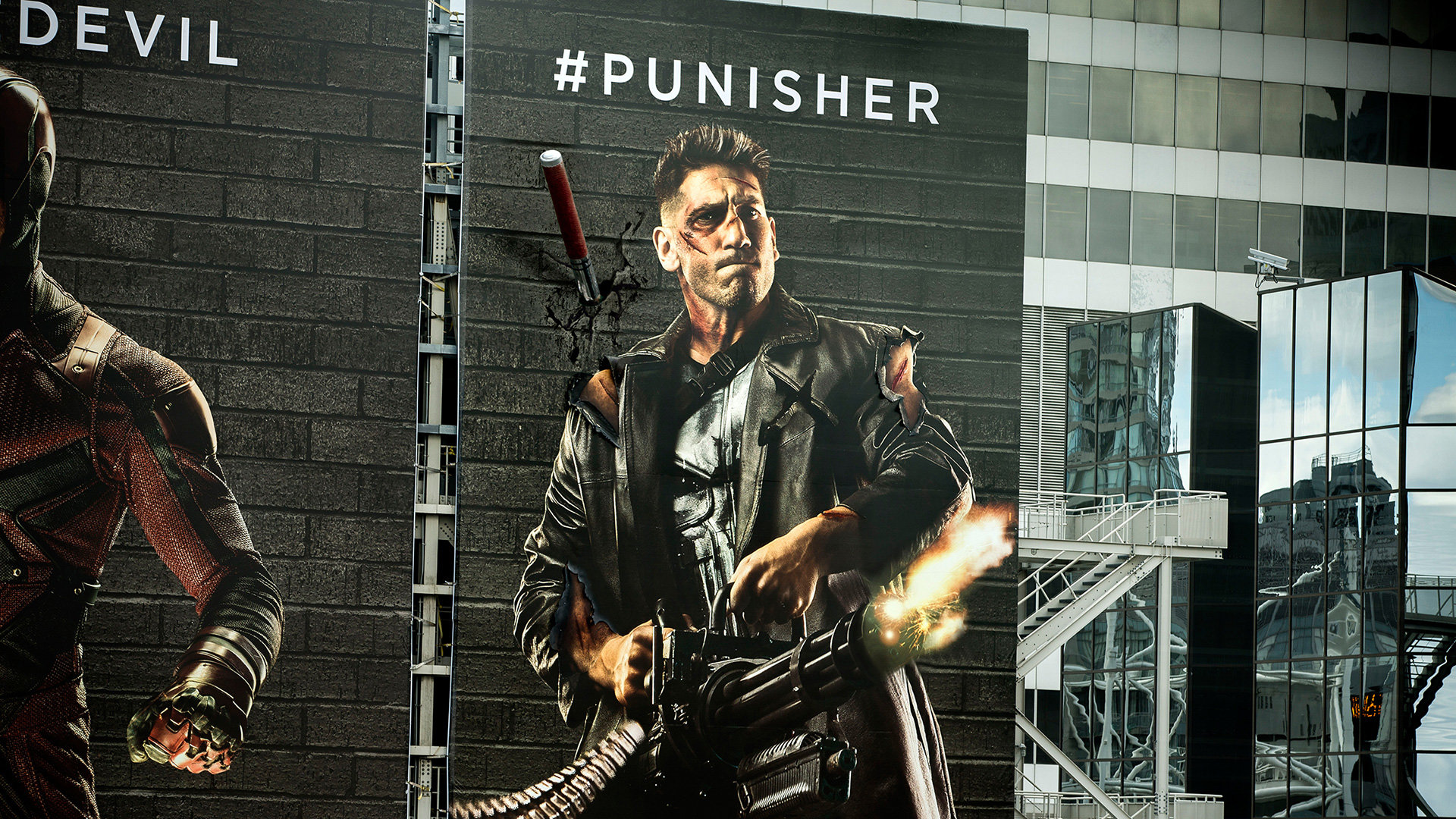 DAREDEVIL - THE PUNISHER Zzcc