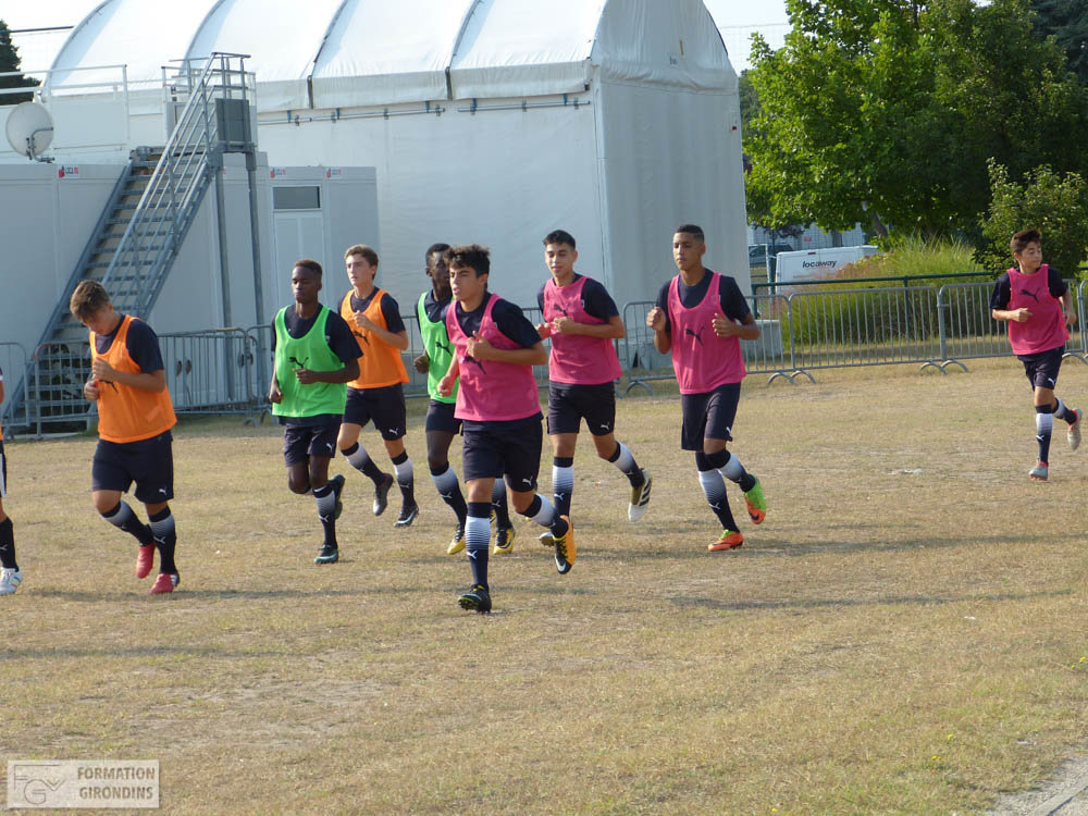 Cfa Girondins : Le groupe des U15 pour le R1 - Formation Girondins