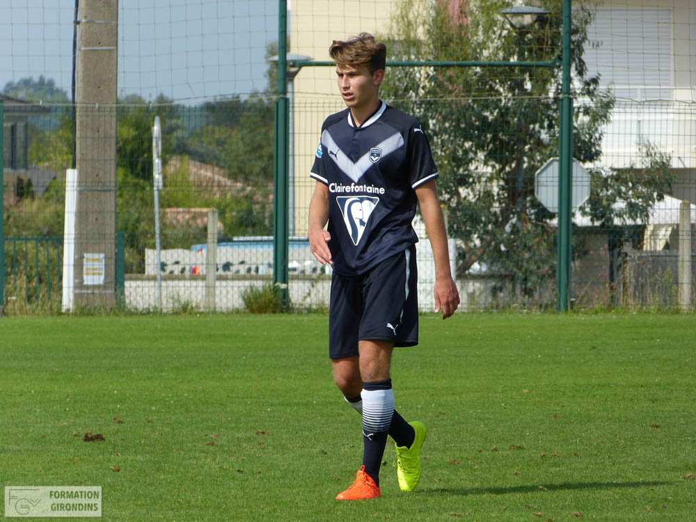 Cfa Girondins : Victoire chez le second Angers (0-2) - Formation Girondins