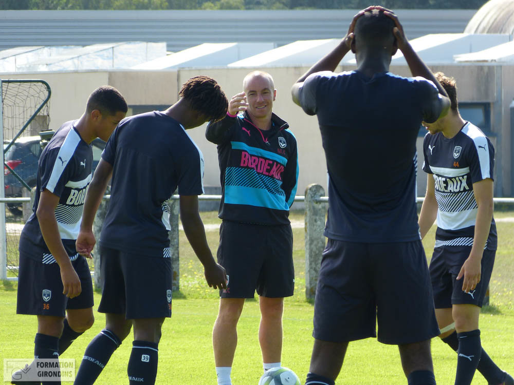 Cfa Girondins : Matthieu Chalmé - « Ce groupe m'a surpris » - Formation Girondins