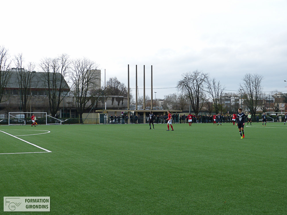 Cfa Girondins : Le nouveau stade Galin en photos - Formation Girondins