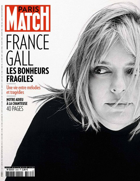 Paris Match N°3583 - 11 au 17 Janvier 2018
