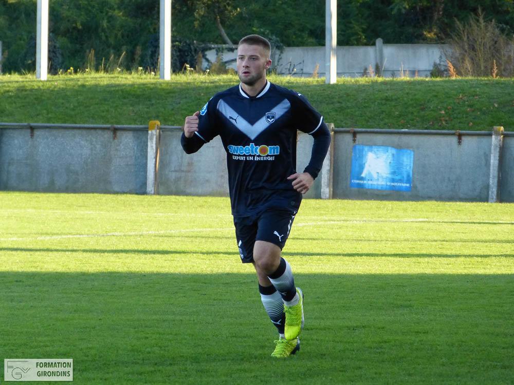Cfa Girondins : Lucas Dumai - « On commence bien cette nouvelle année ! » - Formation Girondins
