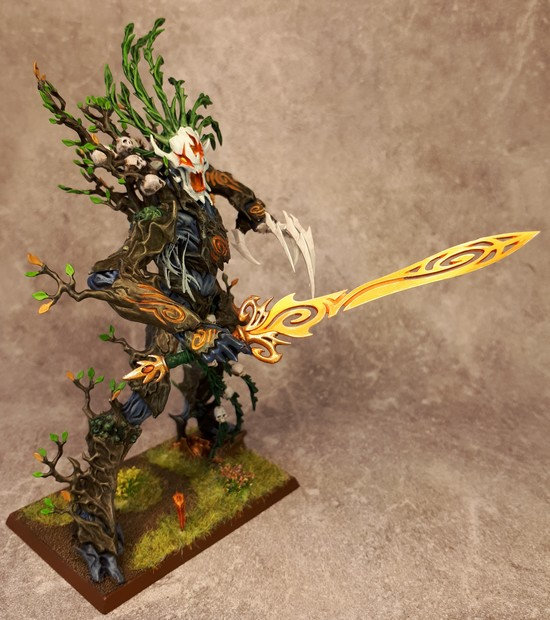 Armée Elfes sylvains - Tree Revenants Zzzh