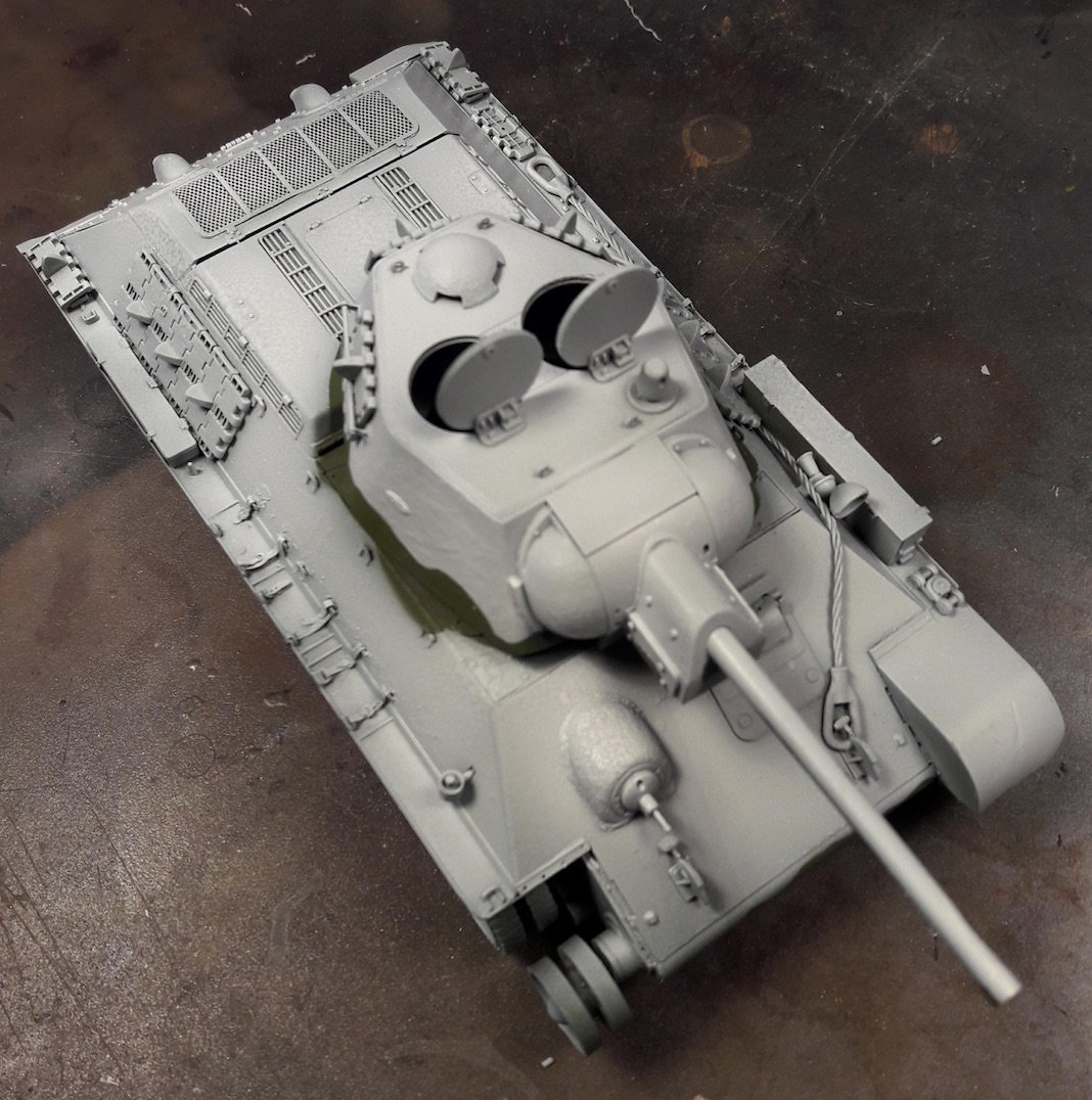 "T-34/76 ""Mickey Mouse"" 3dlz"