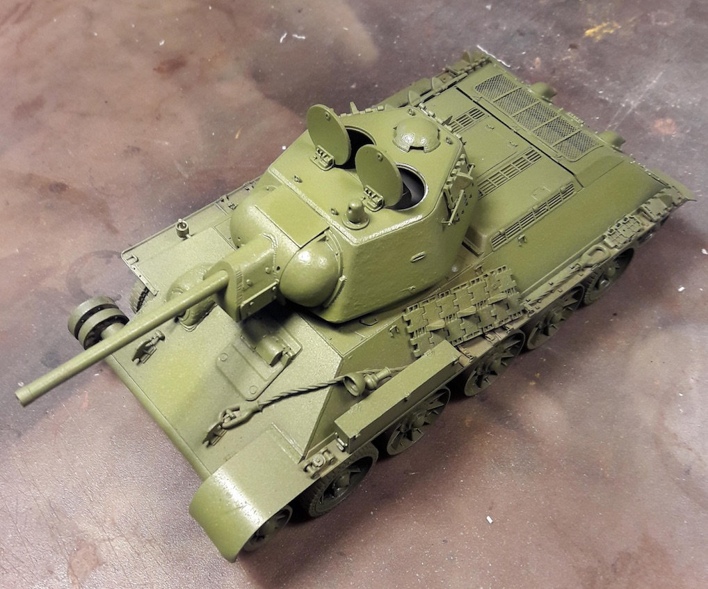 "T-34/76 ""Mickey Mouse"" 5g7m"