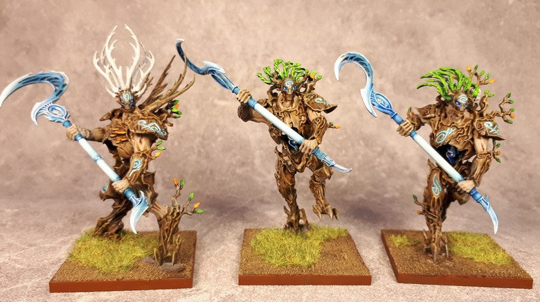 Armée Elfes sylvains - Tree Revenants 7fsg