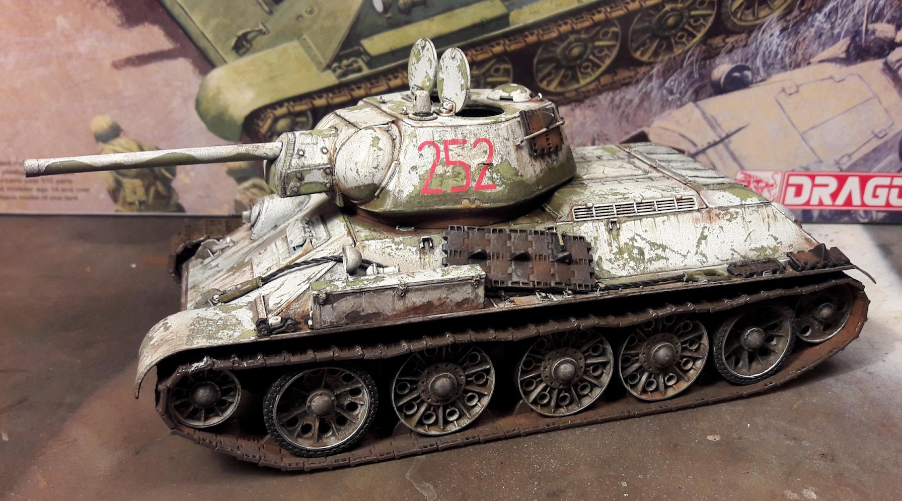 "T-34/76 ""Mickey Mouse"" Aeh9"