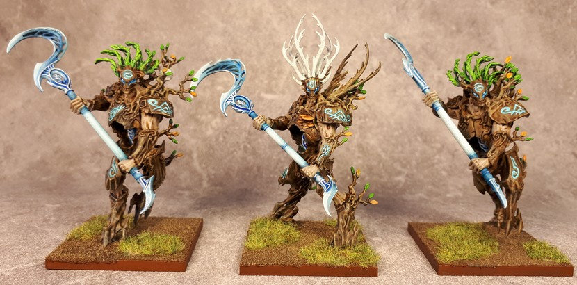 Armée Elfes sylvains - Tree Revenants Bmcm