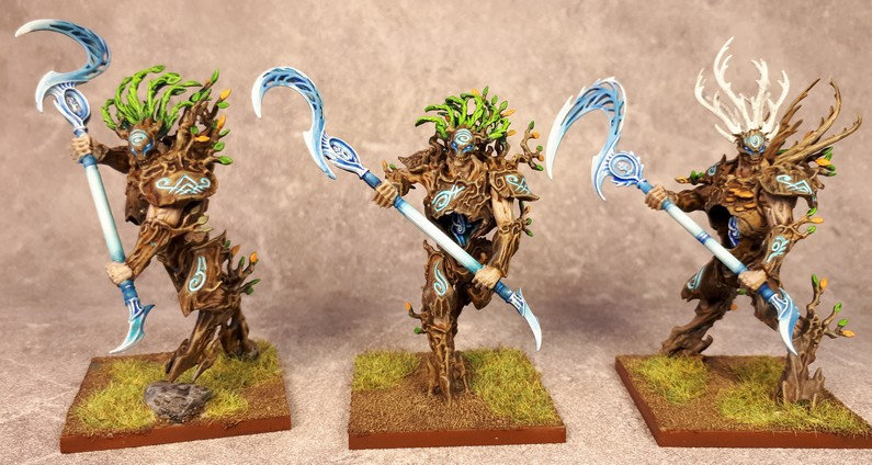 Armée Elfes sylvains - Tree Revenants Ccut