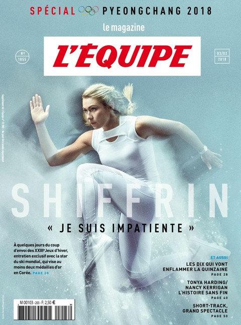 L'Équipe Magazine N°1855 - 3 Février 2018