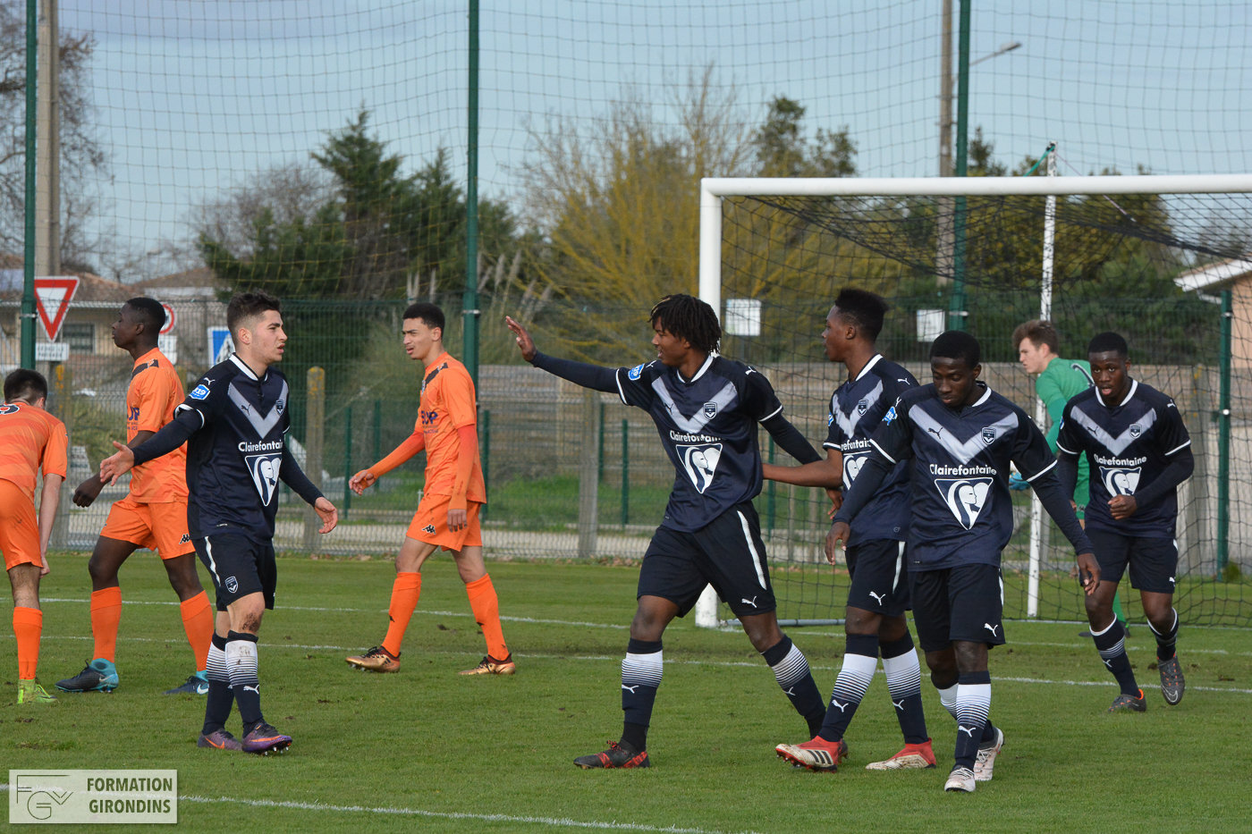 Cfa Girondins : Nouvelle victoire au Mans (2-4) - Formation Girondins