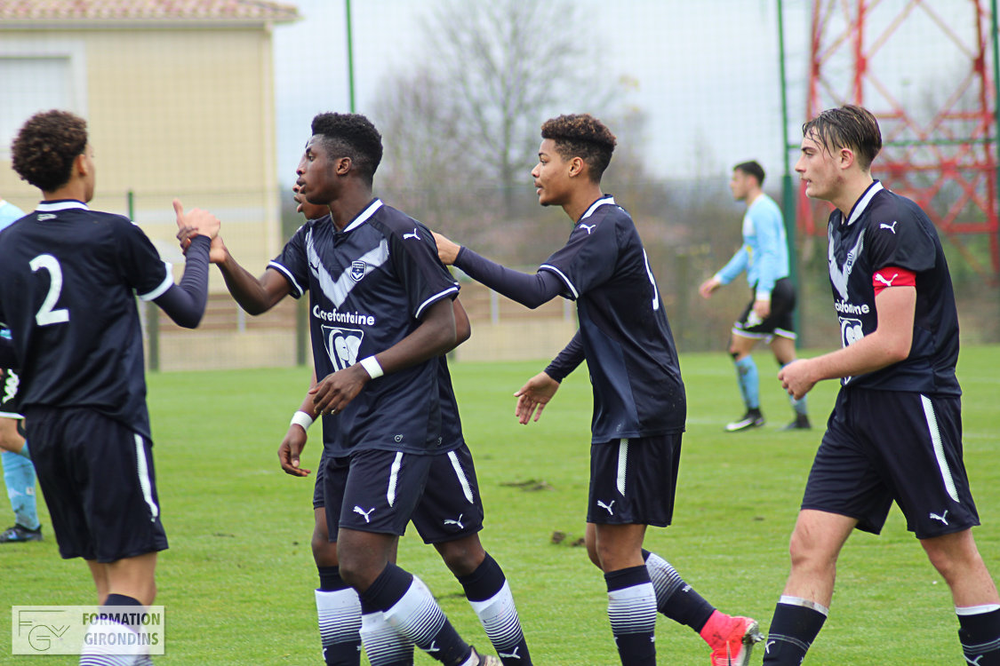 Cfa Girondins : Large victoire contre Tours (4-0) - Formation Girondins