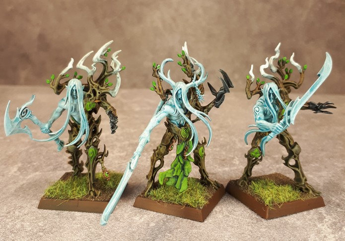 Armée Elfes sylvains - Tree Revenants 9oca