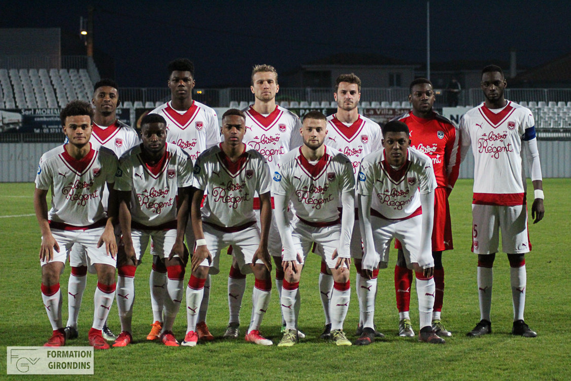 Cfa Girondins : Victoire dans le derby à Libourne (0-1) - Formation Girondins