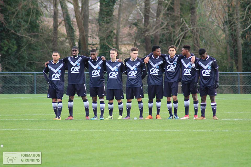 Cfa Girondins : Le groupe pour affronter le Racing Colombes 92 - Formation Girondins