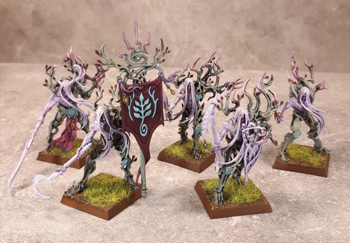 Armée Elfes sylvains - Tree Revenants Ikpc