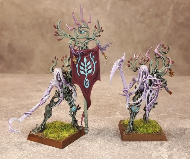 Armée Elfes sylvains - Tree Revenants Oidu