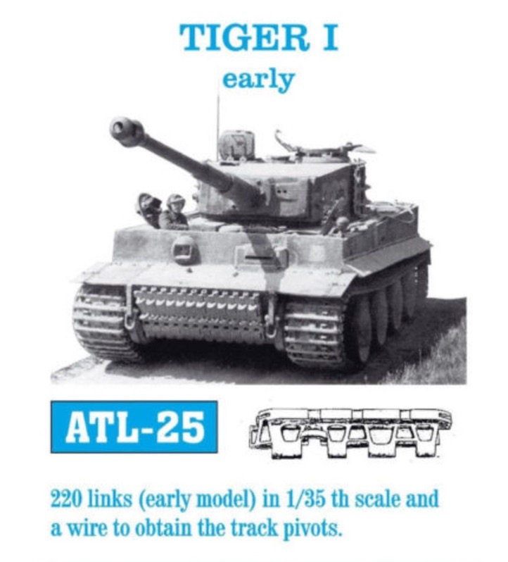 Tiger-1 Early production, kit Dragon Qi24