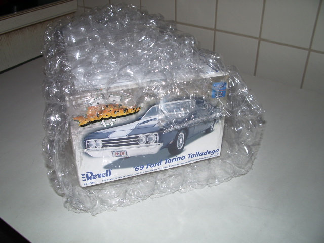 ford torino talladega 1970 de chez revell version drag race  T9b5