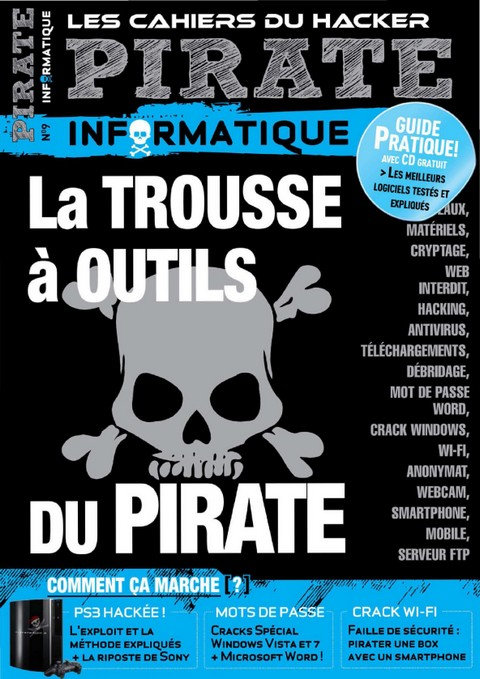 Pirate informatique N°9 - Mai-Juillet 2011 [Old] sur Bookys