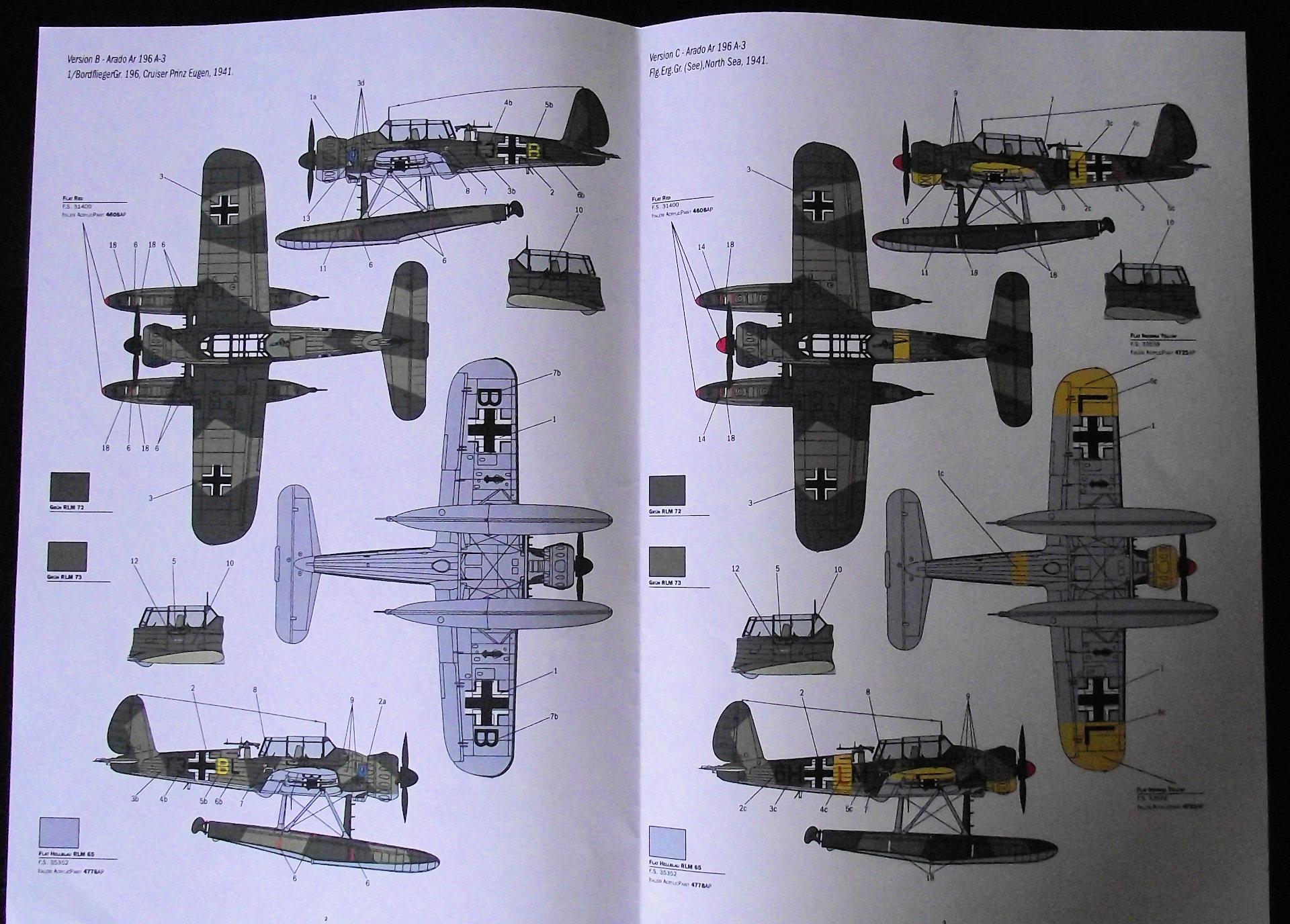 Arado AR196 Italeri 1x48 Echo