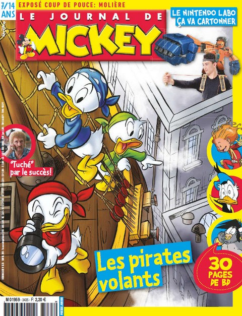 Le Journal de Mickey N°3435 - 18 Avril 2018 sur Bookys