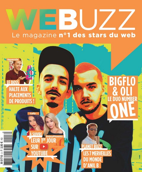 WeBuzz N°3 - Avril 2018 sur Bookys