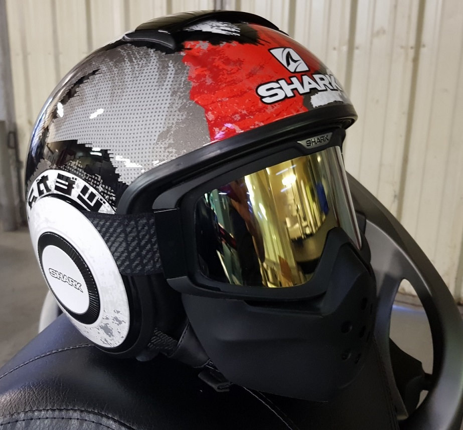 Casque Shark Raw 0a9i