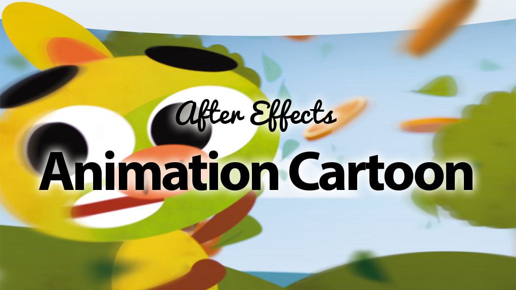 After Effects - Animation de type cartoon - avec Element 3D et Trapcode particular sur Bookys